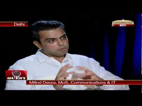 Milind Murli Deora in 'The Quest'