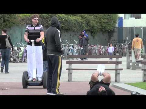 Look At This On a Segway