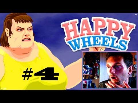 Happy Wheels #4 SOOOŁ HEPI:D (Roj-Playing Games!)