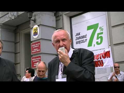 20130822 Pikieta Przed Getin Bankiem W Katowicach
