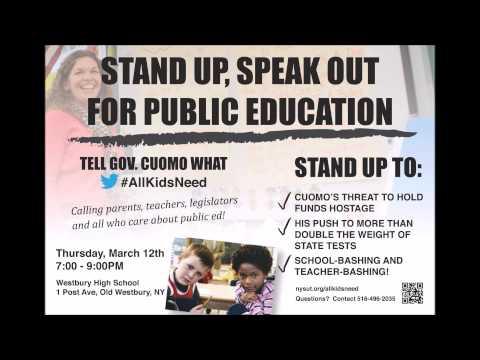 Nassau Education Forum March 12