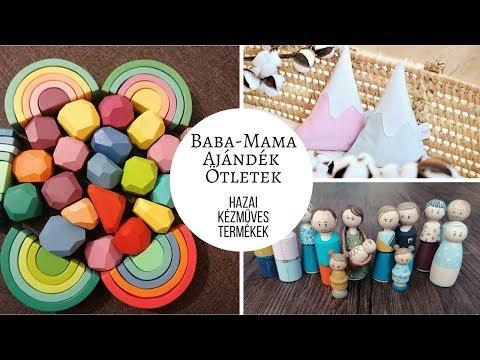 Baba-mama ajándék ötletek I Hazai kézműves termékek