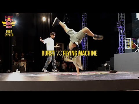 TOP-16 - Burst Vs FlyingMachine - Red Bull Bc One India Cypher