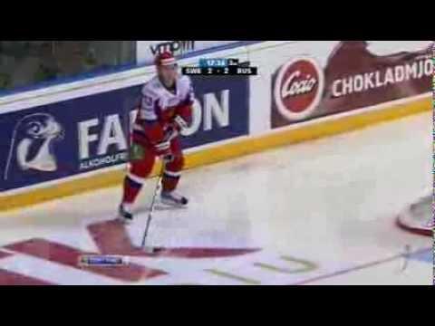 EHT 12/13 █ Russia - Sweden 3:2 █ Karjala Cup █ Россия - Швеция