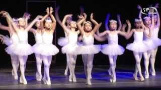 "Children performed ""Swan Lake"" Ballet in new classic genre"