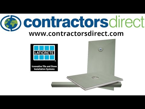 Laticrete Hydro Ban Shower Installation System