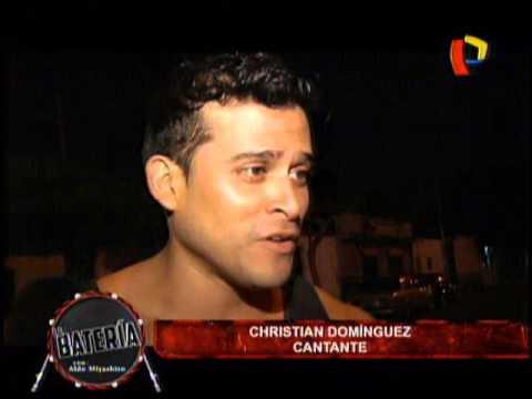 Nota -  Christian Dominguez Le Responde A Vania Bludau