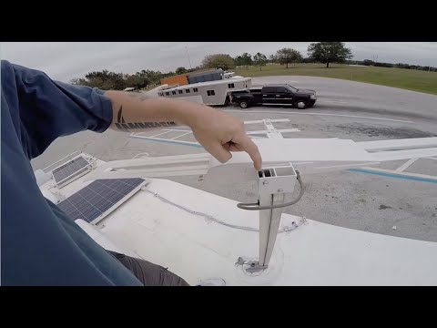 Batwing Antenna Hack,  & Getting Mail On The Road video