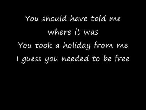 Hilary Duff - Holiday Lyrics