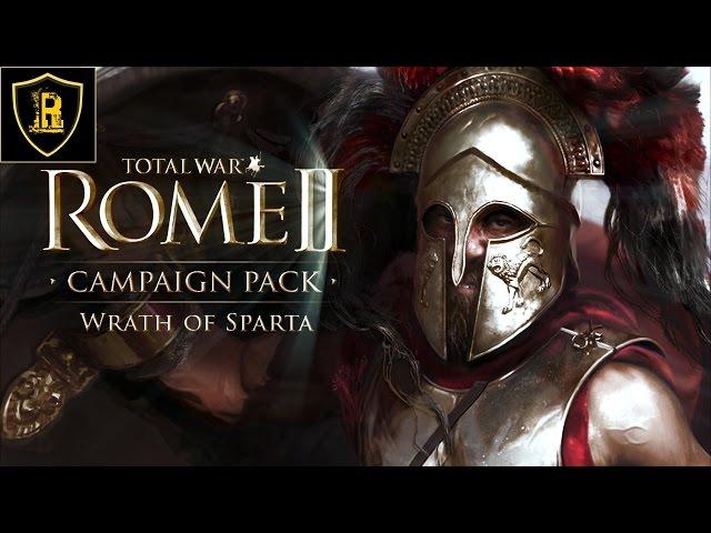 Рабочий Патч для игры Total War: Rome II - Wrath of Sparta. . Можно ставит