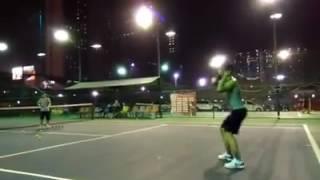 kỹ thuật tennis-sửa lỗi cú đánh thuận tay