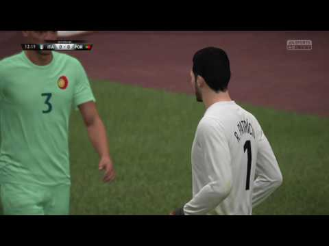2018 FIFA WORLD CUP | Italy vs Portugal | FIFA 17 Gameplay