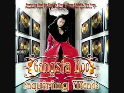 WHO WE BE - GANGSTA BOO FEAT. THREE 6 MAFIA SCANMAN MC-MACK...
