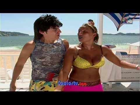 Consuelo Duval TETOTAS EN BIKINI...!!!(sin audio)