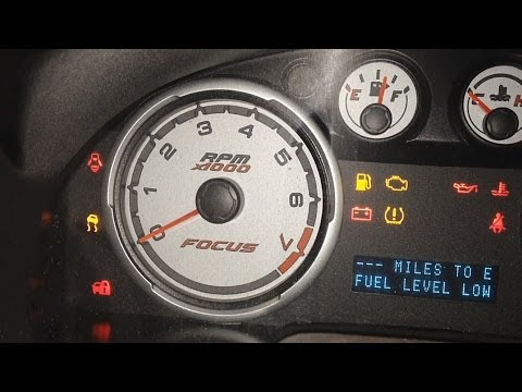 Ford Focus No Start Theft Light Blinking Easy Fix