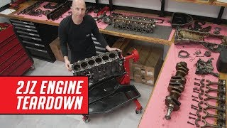 Detailed 2JZ Engine Teardown - See Why This Engine is So Loved