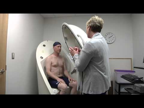 Bod Pod: Measuring Body Composition (Body Fat) at the Exercise Physiology Core Laboratory