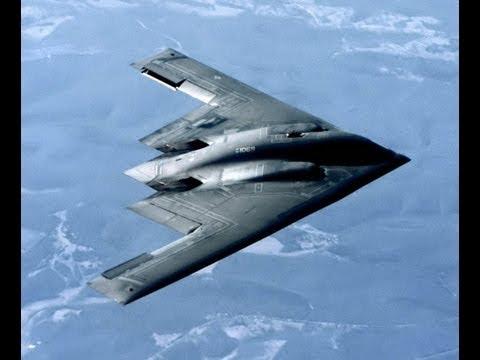Самый дорогой в мире самолёт. Бомбардировщик B-2 Spirit Stealth.