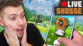 MELTAN SHINY - RÉACTION en LIVE ! - POKEMON GO