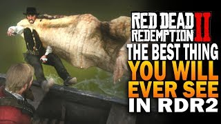 The Best Thing You Will Ever See, Legendary Alligator Eats Dutch - Red Dead Redemption 2