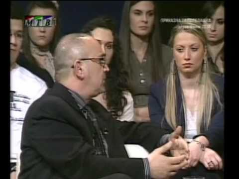 Documentary Violence, Incest, Pedophilia and Child pornography  TV MTV Guest Dragi Zmijanac