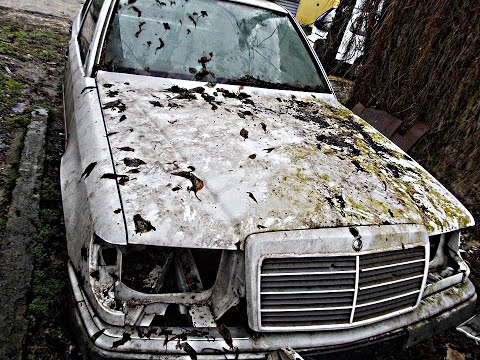 Брошенные автомобили 12