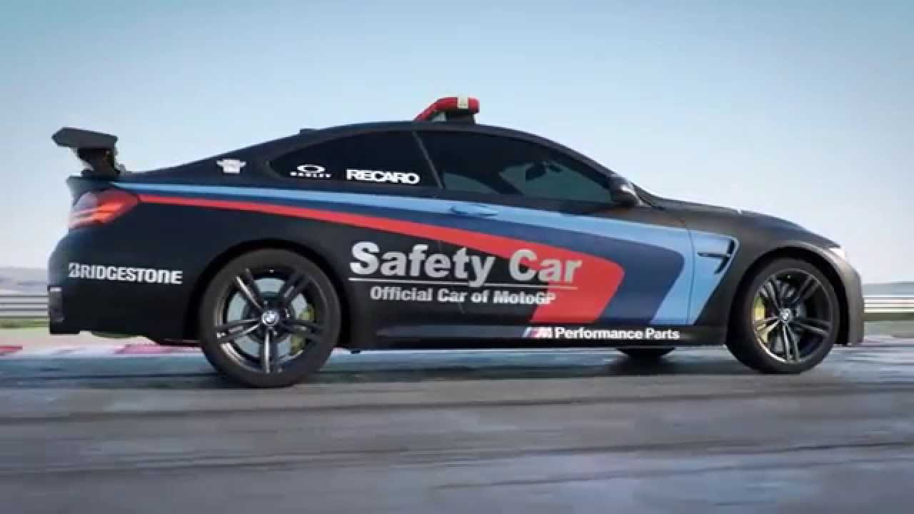 Bmw m4 Motogp Safety Car Water