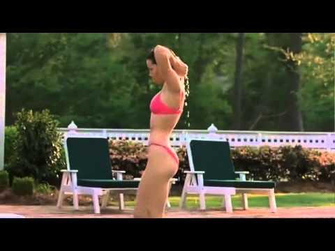 Jessica Biel bikini - Results of hard workout.flv