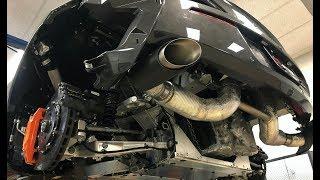 McLaren 570S - Akrapovic Titanium Slip-on Exhaust System