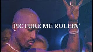 [FREE] Tupac Type Beat - Picture Me Rollin | 2pac Instrumental | Old School hip hop beat