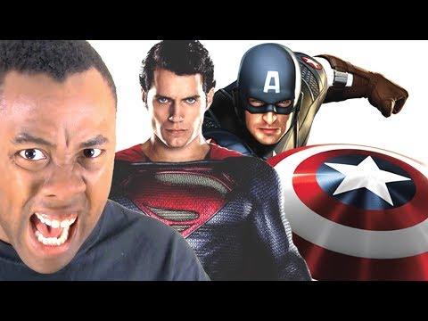 SUPERMAN / BATMAN vs. CAPTAIN AMERICA 3 : Black Nerd Rants