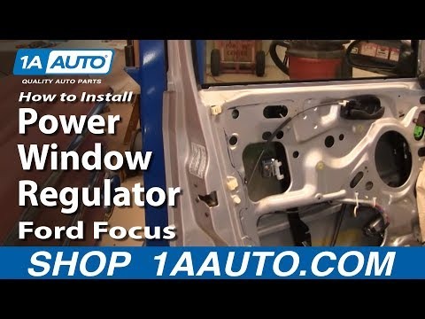 How To Install Replace Front Power Window Regula