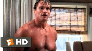 Twins (4/10) Movie CLIP - Singing in the Shower (1988) HD