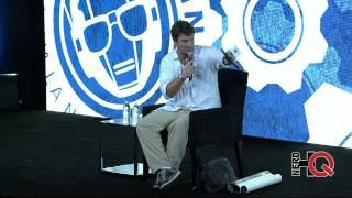 A Conversation with Nathan Fillion live from #NerdHQ 2014