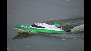 High Speed RC BOAT UNBOX & TEST - FT009 High Speed RC Boat
