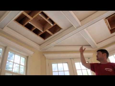 Casual Coffered Ceilings Youtube