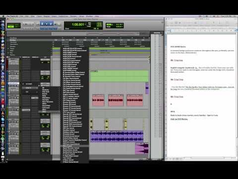 How to Produce a Radio Spot in Pro tools.