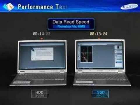 Samsung SSD vs HDD