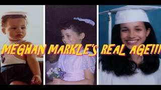 ****PROOF MEGHAN MARKLE IS NOT IN HER 30'S****