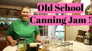Preserving  Grape Jam  Using Paraffin Wax   Keeping Traditions