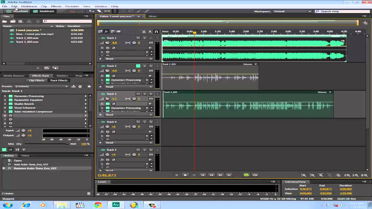 How To Install Autotune Evo In Adobe Audition By Mark