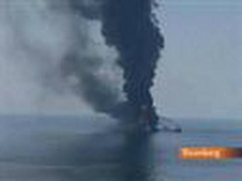 BP Battles Oil Leak in Gulf of Mexico After Rig Sank