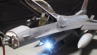 F-16CJ [Block50] FIGHTING FALCON (TAMIYA 1/32) illumianted