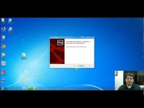 How To Make a Windows 7 USB Flash Drive