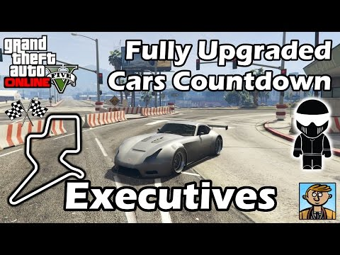 Fastest Executives DLC Vehicles - Best Fully Upgraded Cars In GTA Online