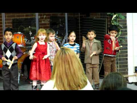 Sriram -  Grace Garden Preschool Christmas 2011 Part 1