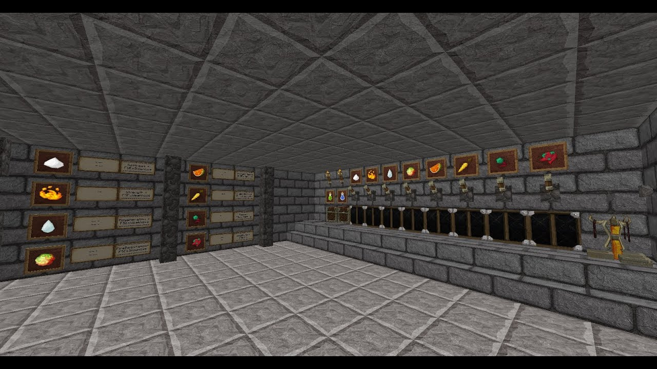 Minecraft How To Build A Automatic Secret Base