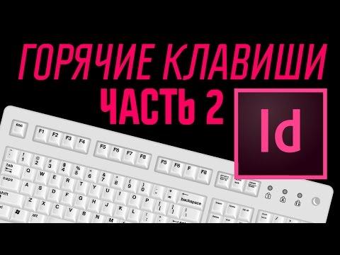 Горячие клавиши для новичков в InDesign CC (часть 2)