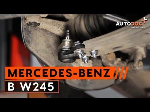Tutorial: Jak Wymienić Przegub Kulowy W MERCEDES-BENZ  B-class W245