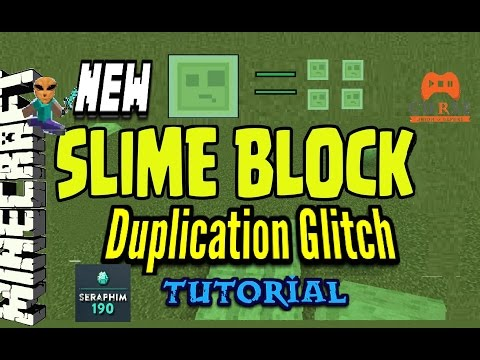 Minecraft: Ghost Slime Block Duplication Glitch TU31 PS3 / XBOX / PS4 Episode 444